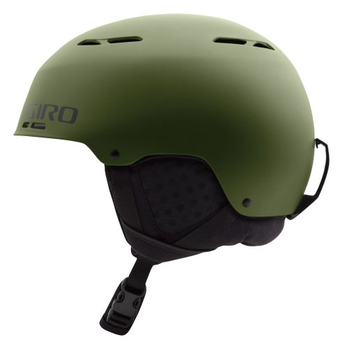 Giro 2013/14 Combyn Winter Snow Helmet (Matte Olive - M) by Giro