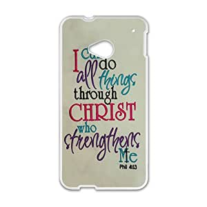 I Can Do All Things Through Christ Who Strengthens Me Phone Case for HTC M7