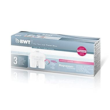 BWT Premium Mg 2+ Water Filter, Custom USA Formulation (3 Pack)