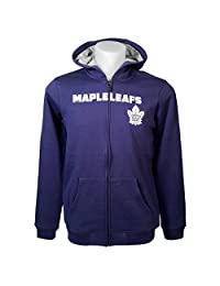 Toronto Maple Leafs Youth Stated Full-Zip Fleece Hoodie