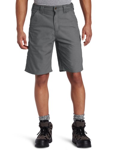 - Carhartt Men's Canvas Work Short B147,Fatigue,36