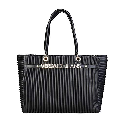 Women Jeans Black Shopping Designer Versace Genuine Bag 7qp5d7wxU
