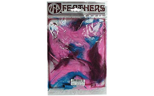Zucker Feather (TM) - Loose Turkey Marabou Mix Dyed - Mask