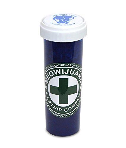 Meowijuana Purrple Passion - Silvervine and Catnip Blend - Large Bottle (Blend Potent)