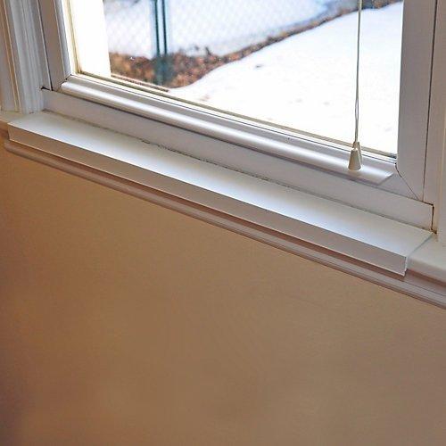- Magnum Plastics Window Sill Protector 29.5in x 2.25in White