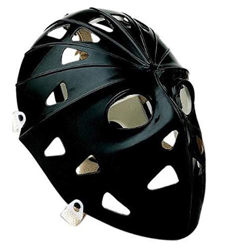 Mylec Pro Goalie Mask, Black by Mylec]()