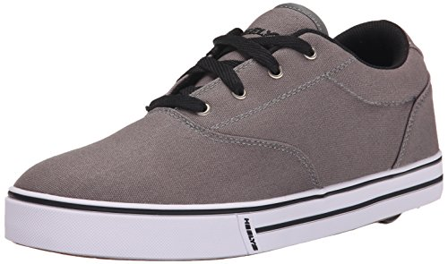 Heelys Men's Launch Fashion Sneaker, Grey, 10 M US