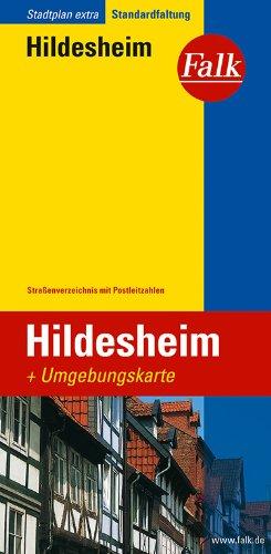 Falk Stadtplan Extra Standardfaltung Hildesheim mit Giesen und Diekholzen