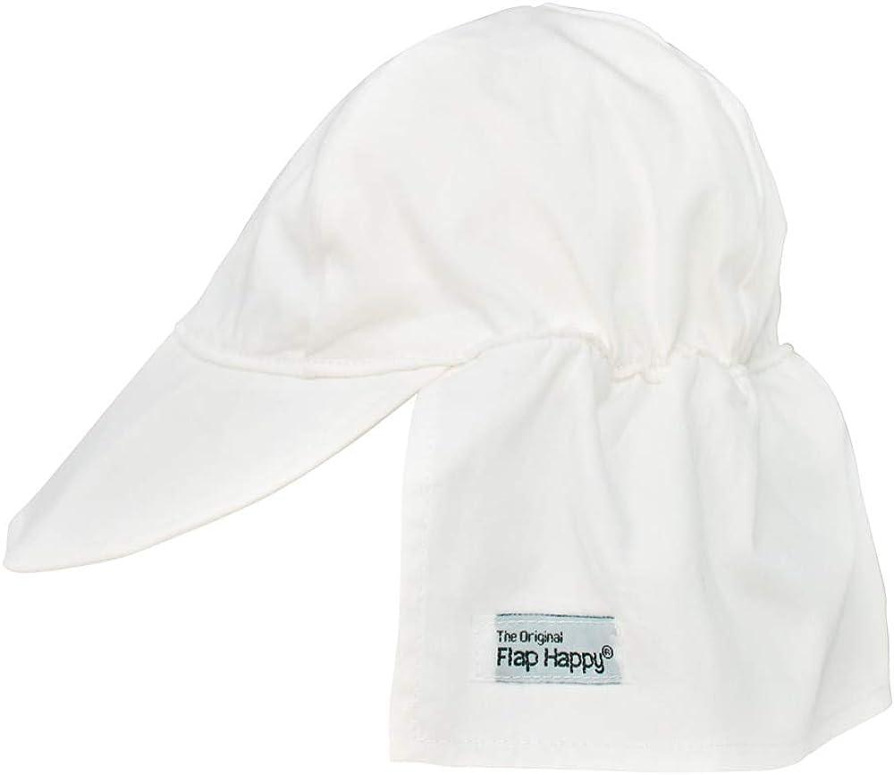 Organic Flap Hat Natural X-Small