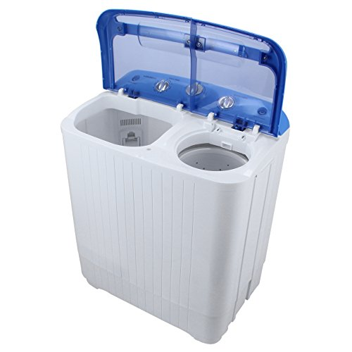 arksen portable mini small washing machine spin dryer laundry 11lbs