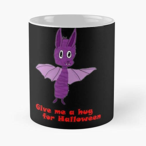Bat Chibi Halloween - 11 Oz Coffee Mugs Unique Ceramic Novelty Cup, The Best Gift For Holidays. -