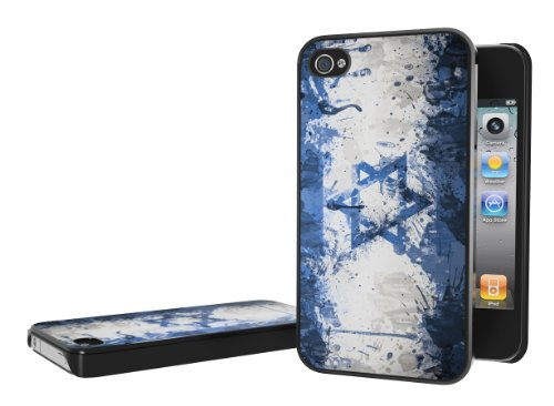 Master Case - Coque iPhone 4/4S Drapeau Grunge - Israel