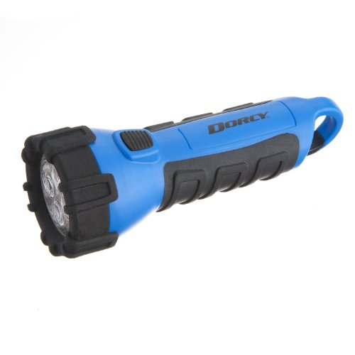 Dorcy 55 Lumen Floating Waterproof LED Flashlight with Carabineer Clip Dorcy 41-2514