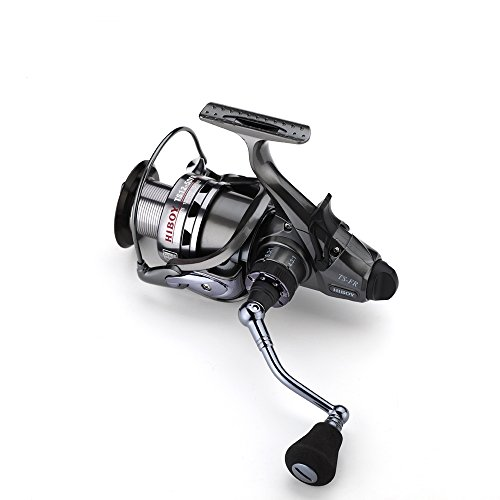 FYSHFLYER TS12 5000/6000 Series Two-speed Spinning Reel-High and Low Gear Ratio-2-in 1 -Front and Rear Drag System-10+1BB;8-10KG Drag Saltwater Fishing Reel-2 Series Available For Sale