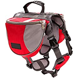 Dog Carriers - Dog Carrier Bag Pack Hound Travel Hiking Backpack Pet Reflective Double - Easy Domestic Aircraft Familiari Ducky Pawl Attack Bounder Favored Chase Common Trail - 1PCs