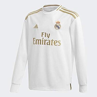 adidas Real H JSY Y LS Camiseta De Manga Larga, Unisex niños ...