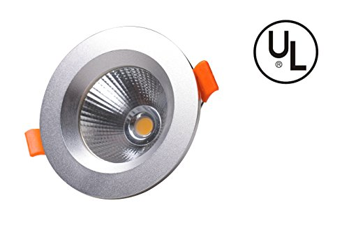 8' Swing Arm Ball Mount (DW Ceiling lamp, downlight, led ceiling lamp, embedded COB cree, spot LED lamp, UL certification, matte silver,All aluminum 5W)