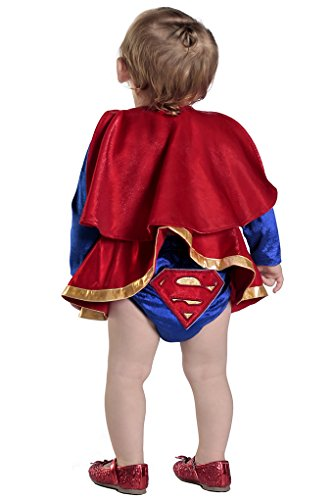InfantToddler-DC-Comics-Supergirl-Dress-Diaper-Cover-Set-4-sizes