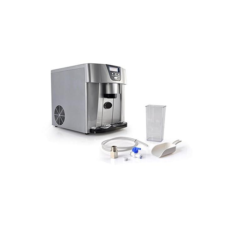 NutriChef Digital Portable Ice Maker Machine