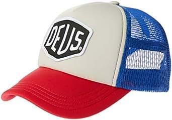 Deus Ex Machina Men's Baylands Trucker, Blue/red, OS