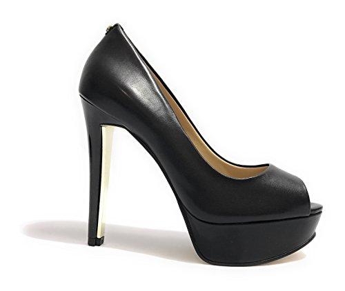 Guess - Zapatillas para deportes de exterior para mujer beige natural 35 negro
