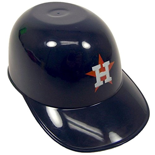 MLB Mini Batting Helmet Ice Cream Sundae/ Snack Bowls, Astros - 12 Pack