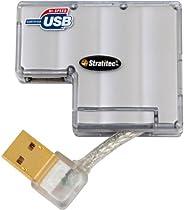 Mini Hub USB 2.0 de 4 portas