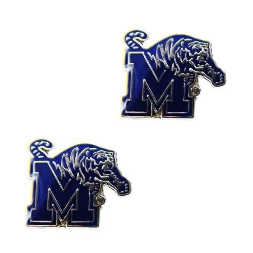 Rick Memphis Tigers Post Stud Logo Earring Set Ncaa Charm