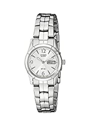 Citizen Women's EQ0540-57A Analog Display Japanese Quartz Silver-Tone Watch