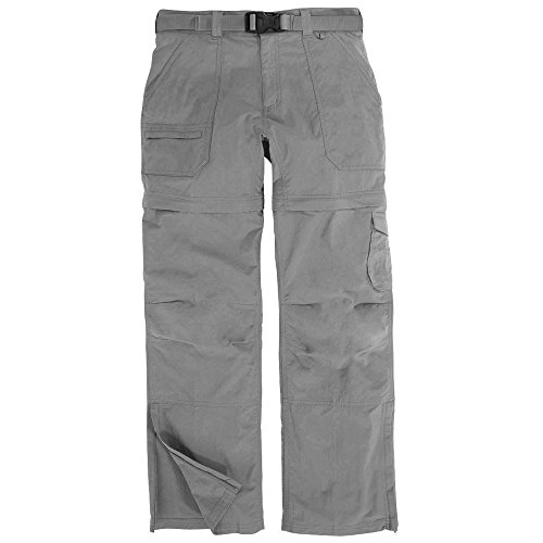 EMS Women's Camp Cargo Zip-Off Pant Neutral Grey Black 6/R