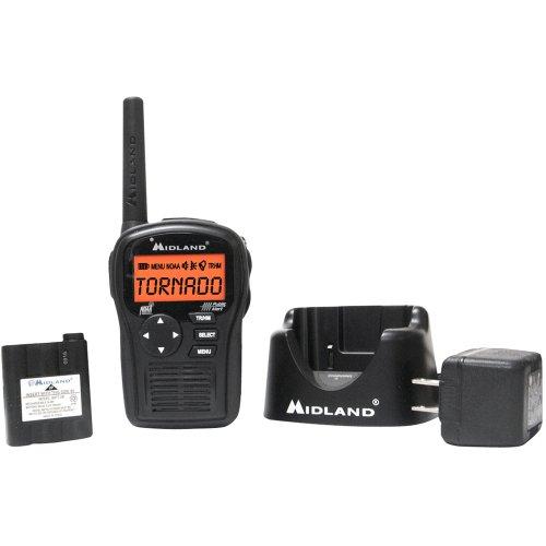Midland HH54VP2 Portable Emergency Weather Radio with SAME (Black)