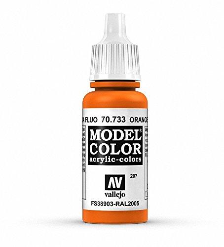 Vallejo Orange Fluorescent Paint, 17ml