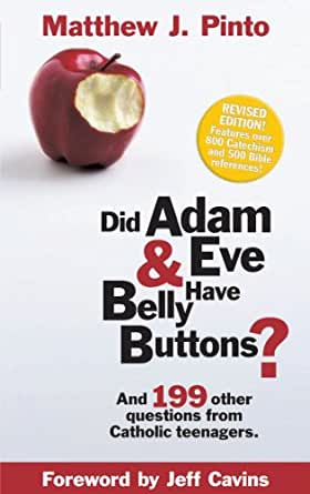 Do adam and eve have belly buttons book