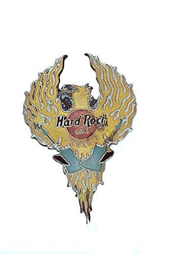 hard-rock-cafe-large-phoenix-bird-flying-holding-two-guitars