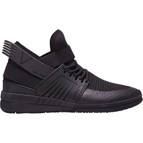 Supra Herren Skytop V18 Schuhe Schwarz Schwarz
