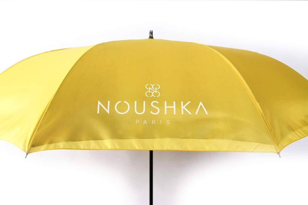 Emballage et Box Individuel NOUSHKA mod/èle /«Juste Nous Deux/» Double-Toile Anti-UV /«NOUSHKA/» Parapluie invers/é Automatique Haut-de-Gamme L/éger Elegant et Ultra Solide Garantie 5 Ans