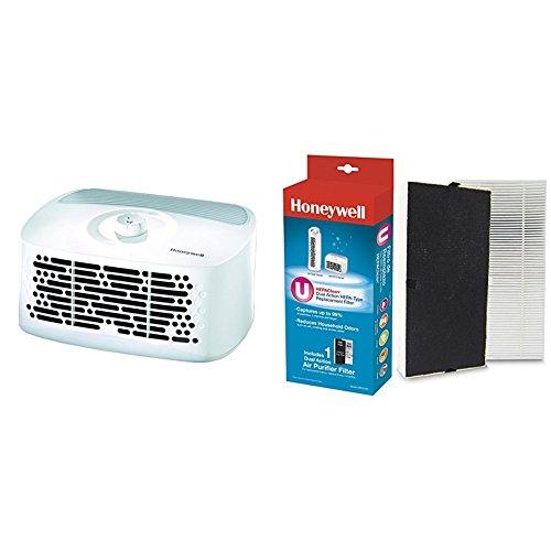 Honeywell HEPAClean Tabletop 13' x 13' Room Air Purifier with Hepaclean Replacement Filter U HRF201B