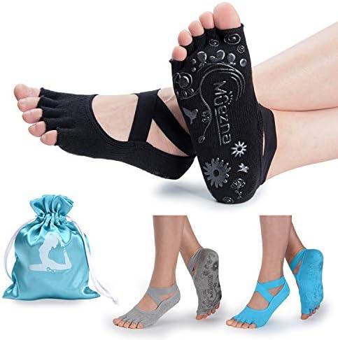 Muezna Toeless Anti Skid Pilates Workout product image