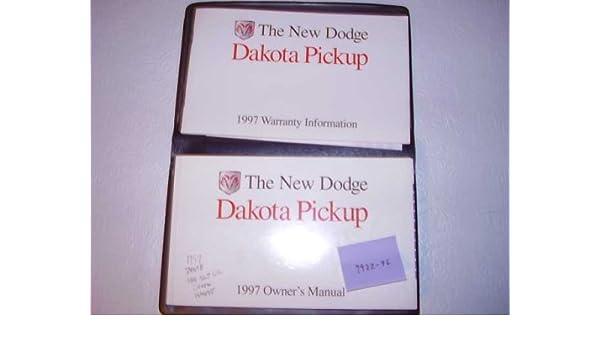 Amazon. Com: bishko automotive literature 1997 dodge dakota owners.