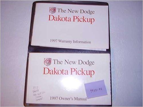 Stratus sedan 97 1997 dodge owners owner's manual all models.