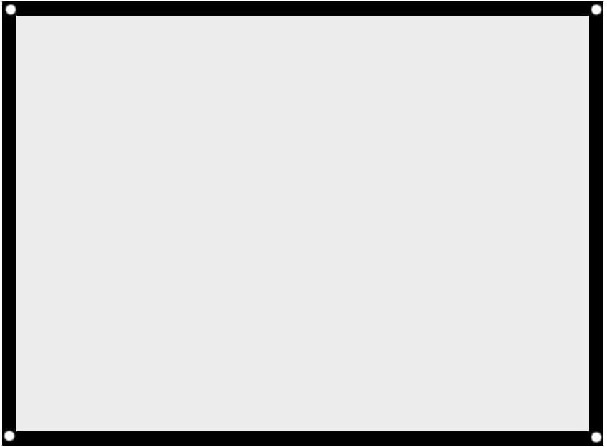 Amazon.com: Zer one 60/72/84/100 pulgadas pantalla de ...