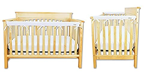 Narrow CribWrap Crib Wrap 3PC Rail Cover Set By Trend Lab - 1- 51