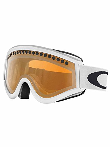 Oakley 57-789 E-Frame Snow Goggle, Snow Matte White with Persimmon - Oakley White Goggles