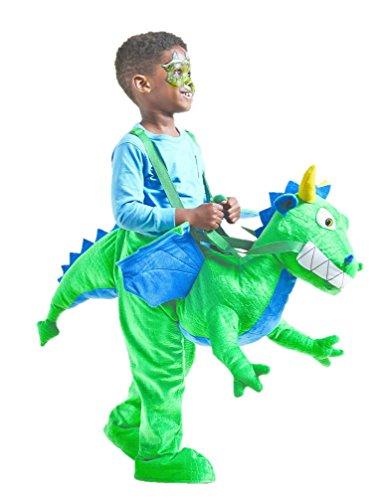 Toddler Boys Girls Ride-On Dragon Costume - 2T-4T ()