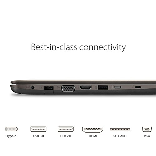 ASUS F556UA A54 Ports and connectivity
