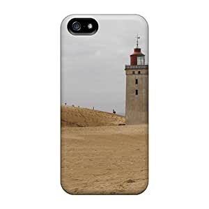 Hot Design Premium PPl2424mmCo Cases Covers Iphone 5/5s Protection Cases(lighthouse On A Beach In Denmark)