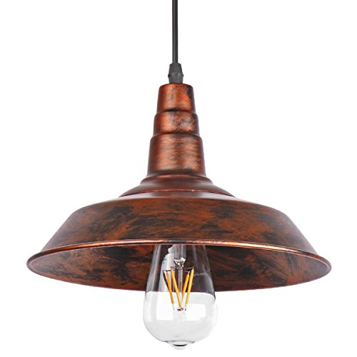 lighting for a bar. ONEVER Ndustrial Retro Vintage Loft Wall Coffee Bar Lighting Fixtrure  Sconce Pendant Ceiling Lamp Fixtures Light Shades For E27 Edison Bulbs(Brown, Lighting A Bar