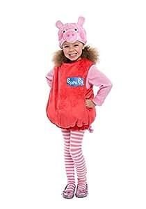 Peppa Pig Bubble Dress Costume, 2T
