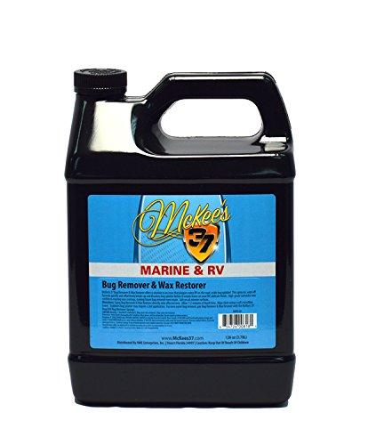 McKee's 37 Marine & RV MKRV-851 Bug Remover & Wax Restorer, 128 fl. oz