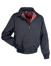 Brandit Men's Lord Canterbury Harrington Mod Skin Rockabilly Jacket